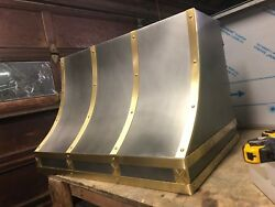 Zinc Range Hood Motor Incl. Custom Sizes Available - Model #306B