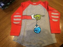 Hanna Andersson Grinch Tee Size 110 (5-6)