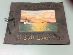 From San Francisco to Salt Lake City Western Pacific Railway Views 1923