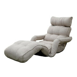 Floor Lazy Sofa Chair Multi-Functional Chaise Lounge Japanese Folding Furniture