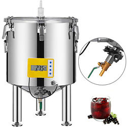 Brew Bucket Stainless Steel 304 Conical Fermenter 14 Gallon Brewmaster Edition