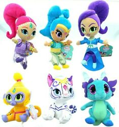 Fisher Price Nickelodeon Nick Jr. Shimmer and Shine Sparkle Pets Plush Dolls 3 $14.99