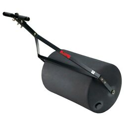 Tow Behind Lawn Roller Combination Push Poly Heavy Duty Steel Yard Towing Mower