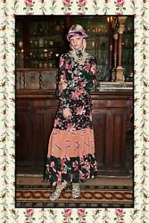 Gucci Dot Iris Gown Dress- With Tags- RRP$5850