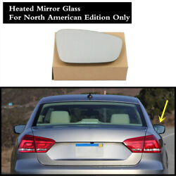 Right Passenger Side Rearview Mirror Heated North US For VW Jetta MK6 Passat B7