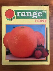Mancave ORANGE FONE 1992 New In Box She Shed