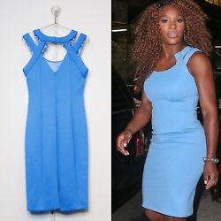 Serena Williams Mimi Plange Babyblue Strapped Dress - Authentic Dress She Wore