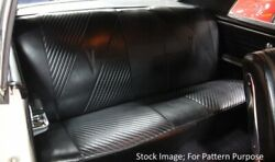 1965 Pontiac Lemans GTO Coupe Rear Seat Covers $182.62