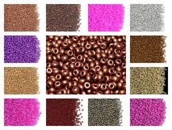 CHOOSE COLOR! 20g 110 2mm Seed Beads Rocailles Preciosa Ornela Czech Glass $3.22