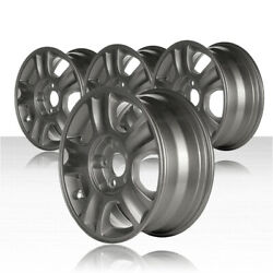 REVOLVE 16x7 Sparkle Silver Wheel for 2001-2007 Ford Escape (Set of 4)