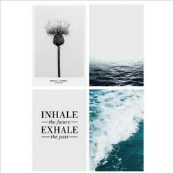 Modern Decor Quotes Print Minimalism Wall Home Poster Canvas Motivational Art $4.58