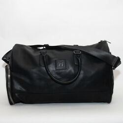 Good For Nothing Faux Leather Black Holdall Bag (GFN5) RRP £54.99