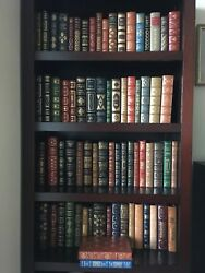 Franklin Library Limited and First Editions Leather Set of 71 - 35 Signed New