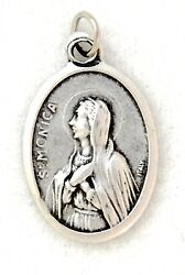 ST MONICA Catholic Saint Medal charm patron abuse victims housewives mothers  $4.00