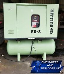SULLAIR  20 HP COMPRESSOR AND  AIR DRYER