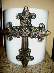 Large Cross Candle Pin for Pillar Candle. Decorative candle pin Old World NEW $24.95