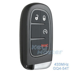 for Jeep Cherokee 2014-19 Replacement Fobik Key Smart Remote Car Key Fob GQ4-54T