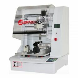 Small Size Four Axes Jewelry CNC Engraving Machine with Floating Head Assembly