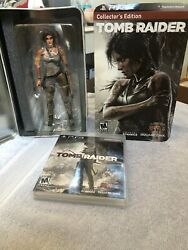 PS3 Tomb Raider Collector's Edition COMES WITH GAME ##SEE ALL PICTURES##