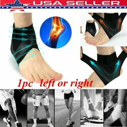 Elastic Adjustable Ankle Brace Support Sport Basketball Protector Foot Wrap USA