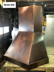 Copper Range Hood Motor Incl. Custom Sizes Available - Model #46