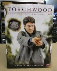 New Titan Merchandise Doctor Who Torchwood Captain Jack Harkness Maxi Bust $66.00