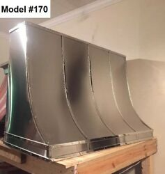 Stainless Vent Hood Range Hood Fan Incl. All Metals avail. - Model #170