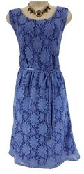 2X 20 22 SEXY Womens GORGEOUS PERIWINKLE LACE DRESS Spring Summer PLUS SIZE $49.99