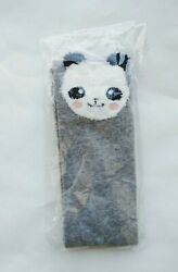 Novelty Socks Women Grey Panda Crew $6.00