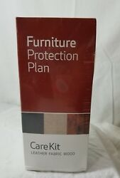 NEW-Furniture Protection Plan Care Kit Leather Fabric Wood New Refresher Polish