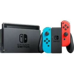 Nintendo Switch Console Neon Blue and Red Joy-Con HACSKABAA