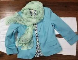 Women#x27;s Size 12 Clothing Lot Outfit 4pc Spring summer Casual Nice $24.99