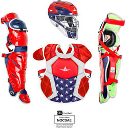 All Star Youth System7 Axis Usa Pro Catchers Set $349.95