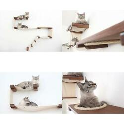 CatastrophiCreations Cat Mod Play Handcrafted Wall-Mounted Activity Cat Tree She