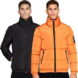 Mens Good For Nothing Road Puffer Jacket (GFN6) RRP: £69.99