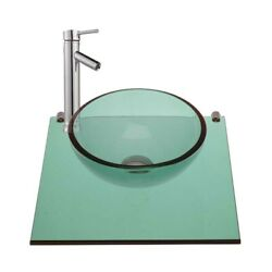 Children Washing Wall Mount Mini Glass Sink Faucet In Renovator#x27;s Supply $149.00