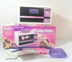 Vintage Easy-bake Oven And Snack Center 1997 For Parts
