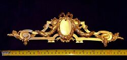 FRENCH ANTIQUE LOUIS XVI GOLD GILT DORE RESIN WALL FRAME MOULDING DECORATION GBP 19.95