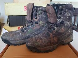 SHE Outdoor Big Timber Camo Insulated Waterproof Hunting Boots - Ladies SZ 9.5M