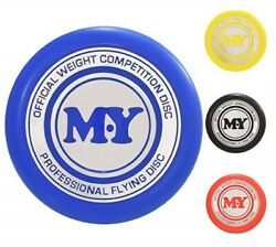 FLYING DISC M.Y.PRO FRISBEE TY1911 COMPETITION OUTDOOR BEACH GARDEN GAME FETCH $5.10