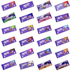 4x 8x MILKA genuine chocolate from Germany 🍫 many flavors ❗MIX amp; MATCH❗ TRACKED $28.11