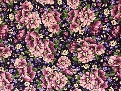 Purple flowers of different shades $6.00