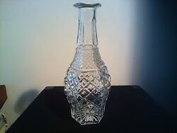 set of 2 antique glass vases $30.00