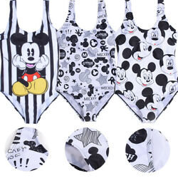Women Swimsuit Mickey Mouse One Piece Bathing Suits Swimwear Bikinis Plus Size $19.99