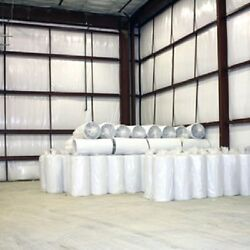 100sqft (4'x25') SOLID White Foam Reflective Vapor Heat Barrier Insulation R7-21 $53.88