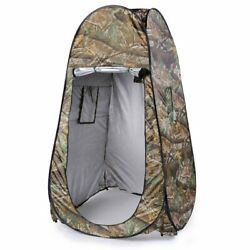 Portable Pop Up Tent Camping Beach Toilet Shower Changing Room Outdoor Bag Camou
