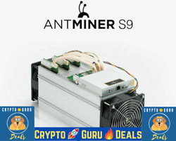 2 X Bitmain Antminer S9 ~ 13.5 THs Ready to Ship With PSU & Free Shipping- USED $450.00