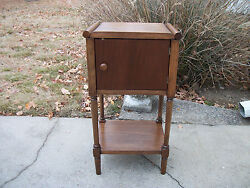 Antique Solid Wood Smoke Stand