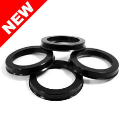 POLYCARBONATE HUB CENTRIC RINGS 63.9MM x 72.62MM - 4 PIECE SET