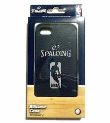 NBA Silicon IPhone® Case By Spalding FOR iPhone 5 Blue in ORIGINAL CASE NEW $14.50
